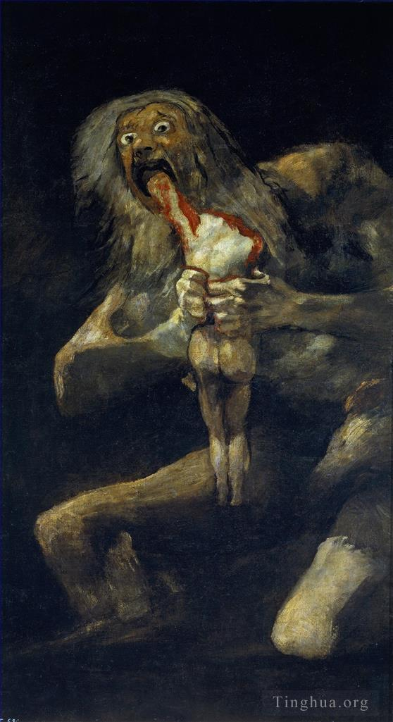 弗朗西斯科·戈雅作品《Saturn Devouring His Son》